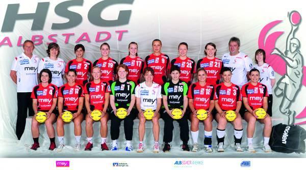 Teamfoto HSG Albstadt 2010/11