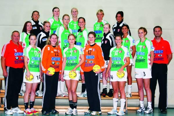 Teamfoto HSC 2000 Magdeburg 2010/11
