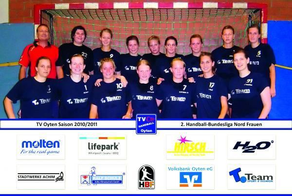 Teamfoto TV Oyten 2010/11