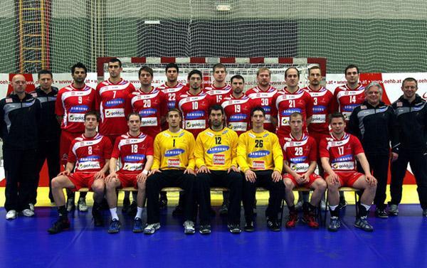 Teamfoto Österreich 2011
