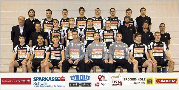 Mannschaftskader ULZ Sparkasse Schwaz - 2010/11
