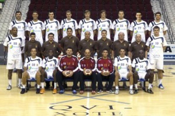 Teamfoto Ciudad Real Saison 2010/2011