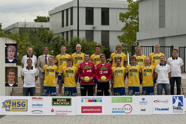 Teamfoto HSG Düsseldorf 2011/12