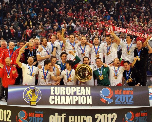 amtierender handball europameister