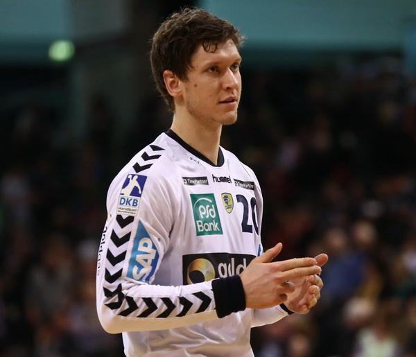 Il 32-anni 201 cm alto Niklas Landin Jacobsen nel 2021