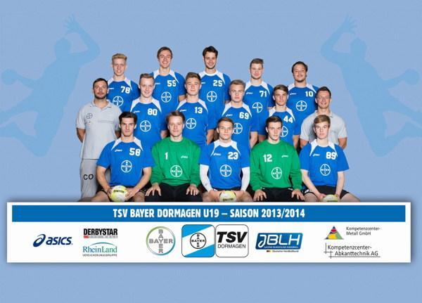 Bayer Dormagen U19 - Teamfoto