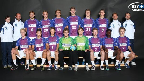JHBL, Teamfoto A-Jugend HSV Hamburg, Saison 2013/14