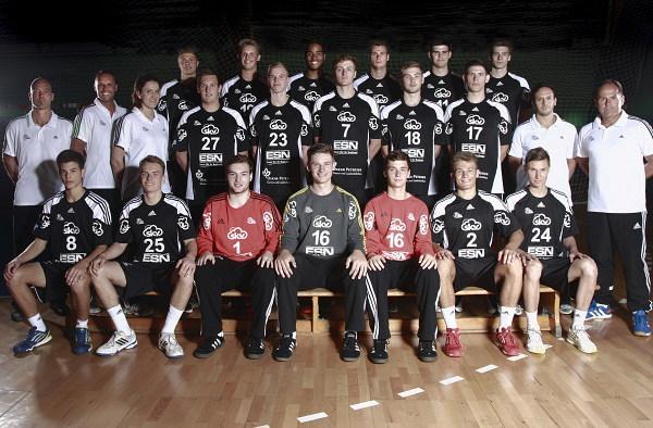 Team, Mannschaftsfoto: THW Kiel U19