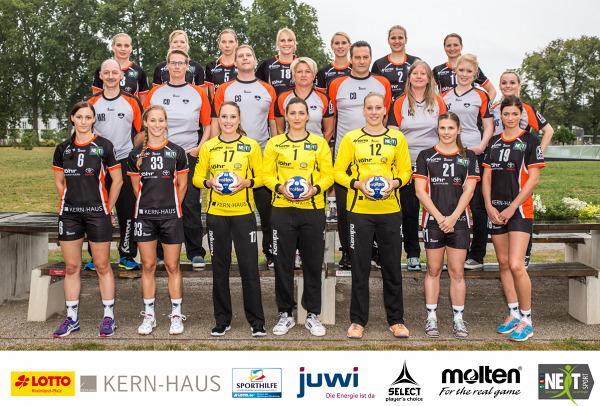 Vulkan-Ladies Koblenz/Weibern, Teamfoto, Teambild, Mannschaftsbild, Mannschaftsfoto