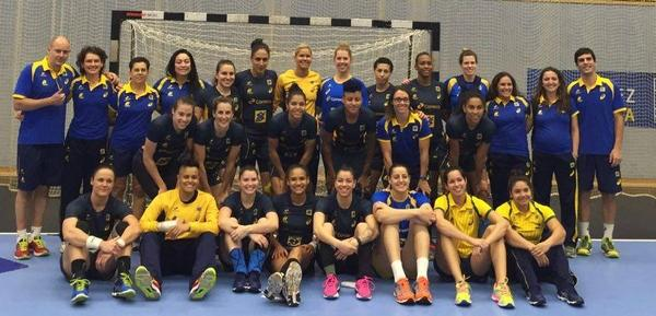 Teamfoto Brasilien 2016