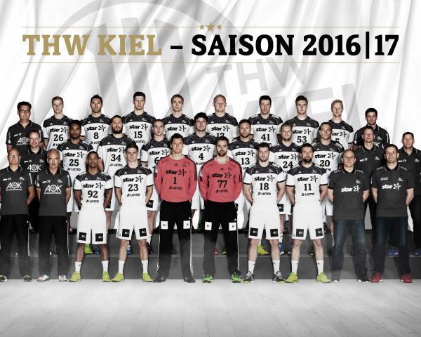 THW Kiel - Mannschaft 2016 2017