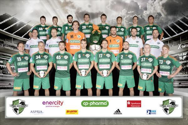 TSV Hannover-Burgdorf, Mannschaftsfoto Saison 2016/17