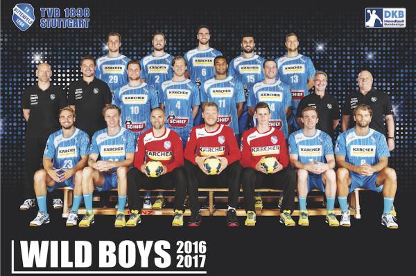 TVB 1898 Stuttgart, Mannschaftsfoto Saison 2016/17