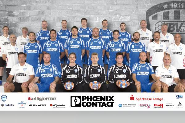 TBV Lemgo, Mannschaftsbild Saison 2016/17