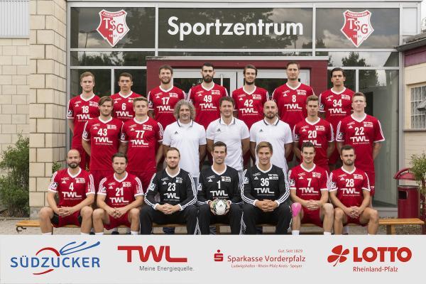 TSG Ludwigshafen-Friesenheim, Mannschaftsfoto Saison 2016/17