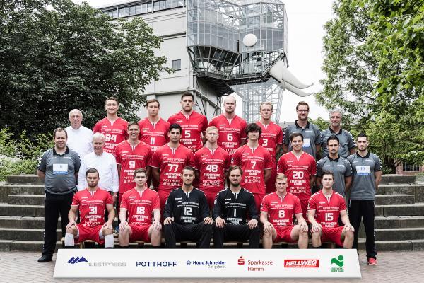 ASV Hamm-Westfalen, Mannschaftsfoto Saison 2016/17