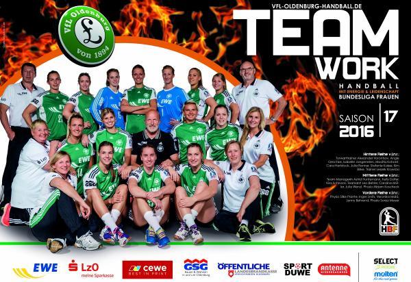 Team VfL Oldenburg 2016/17