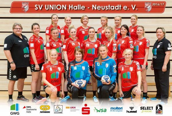 Team 2016/17 - SV Union Halle-Neustadt
