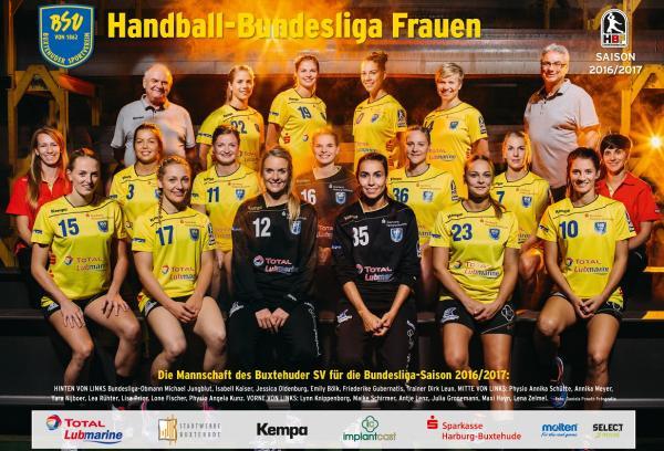 Team 2016/17, Buxtehuder SV