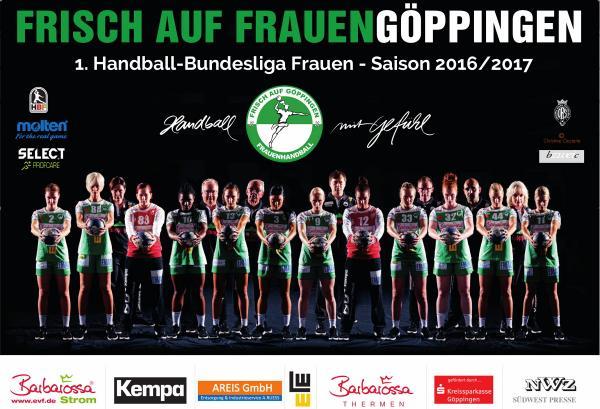 Team 2016/17 - Frisch Auf Göppingen