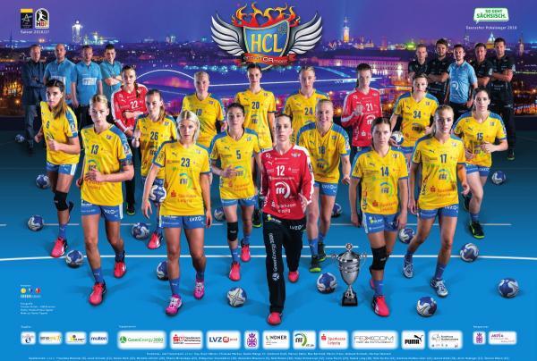 Team 2016/17 HC Leipzig