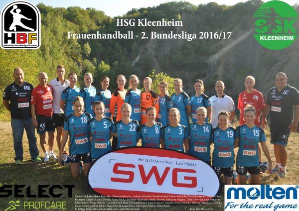 Team 2016/17 HSG Kleenheim