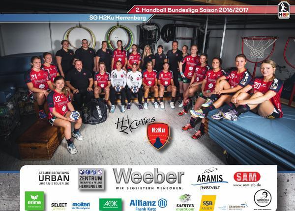 Team 2016/17 SG H2Ku Herrenberg