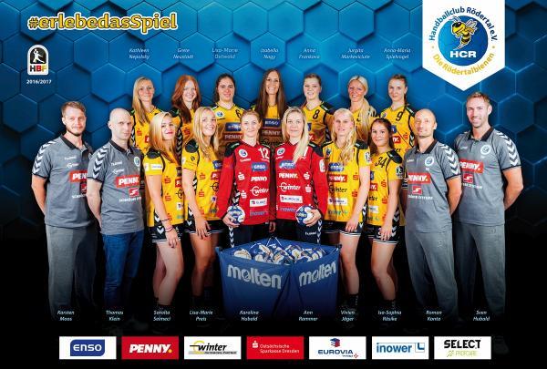 Team 2016/17 - HC Rödertal