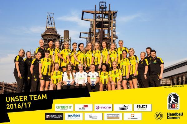 Teamfoto 2016/17 - Borussia Dortmund