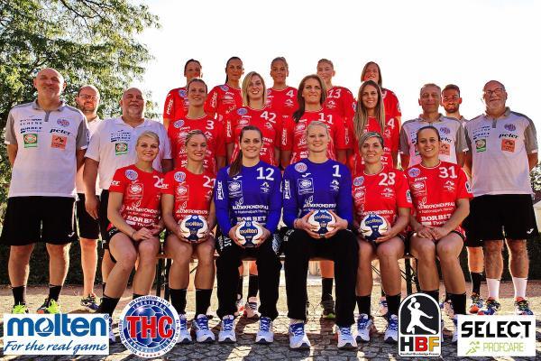 Thüringer HC, Mannschaftsfoto Saison 2016/17 neu