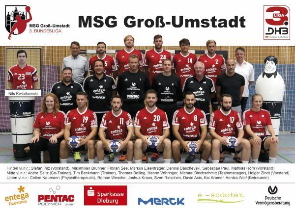 MSG Groß-Umstadt, 3. Liga Ost Saison 2016/17
