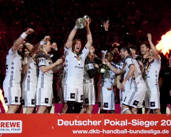 Der THW Kiel geht als Titelverteidiger in den Pokalwettbewerb 2017/18