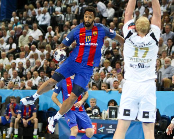 "Timothey N""Guessan, FC Barcelona THW-FC Barcelona CL-Viertelfinale 2016/2017"