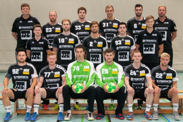 Teamfoto HSG Hannover-Burgwedel 2017/18