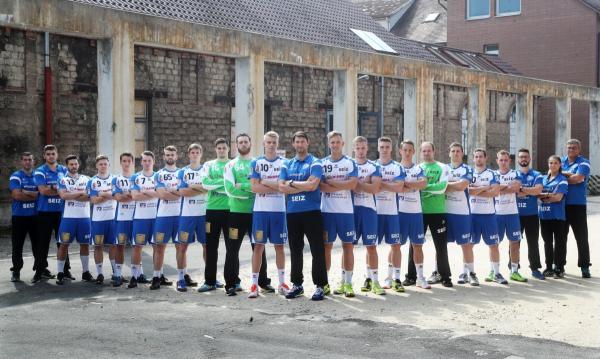 Teamfoto TV 1893 Neuhausen Saison 2017/2018