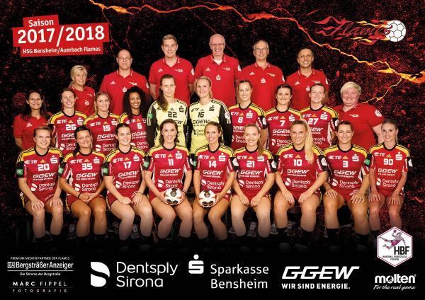 HSG Bensheim-Auerbach, HBF 2017/18