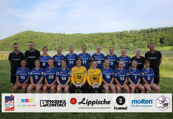 HSG Blomberg-Lippe, HBF 2017/18
