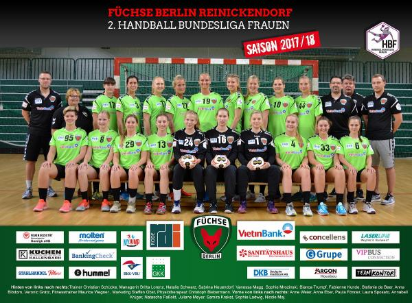 Team Füchse Berlin 2017/18