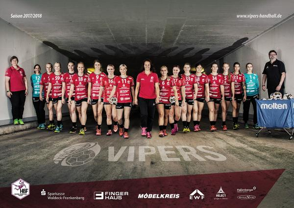 Team HSG Bad Wildungen Vipers 2017/18