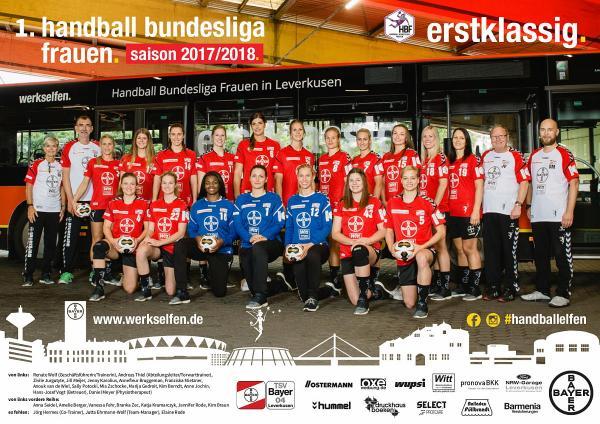 Team TSV Bayer 04 Leverkusen 2017/18 - neu