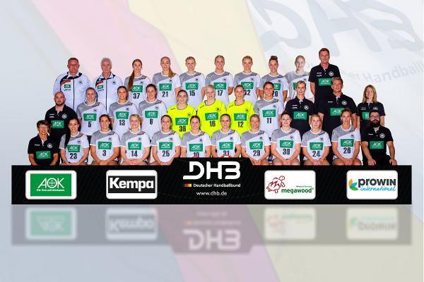 Deutschland, DHB-Team, Teamfoto GER,