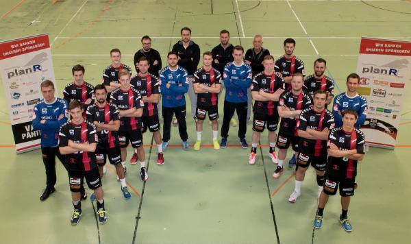 TuS Fürstenfeldbruck, Mannschaftsfoto 2017/18 3. Liga Süd