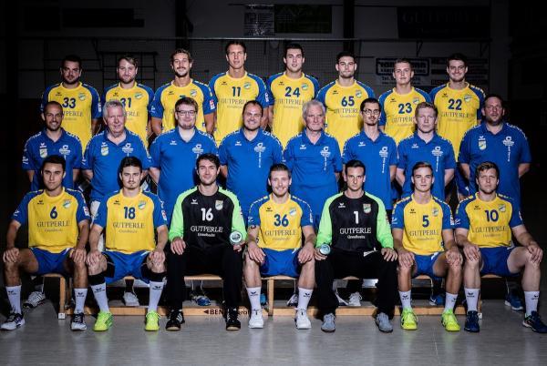 TV Germania Großsachsen, TVG Großsachsen, Mannschaftsfoto 2017/18 3. Liga Ost