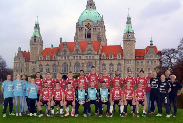 HSV Hannover, Mannschaftsfoto 2017/18 3. Liga Nord