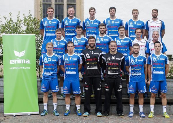 VfL Pfullingen, Mannschaftsfoto 2017/18 3. Liga Süd