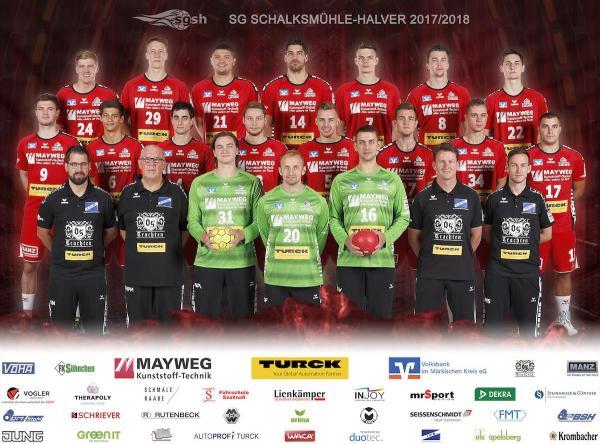 SG Schalksmühle-Halver, SGSH, Mannschaftsfoto 2017/18 3. Liga West