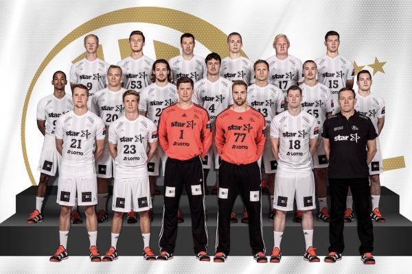 THW Kiel, Mannschaftsfoto Saison 2017/18