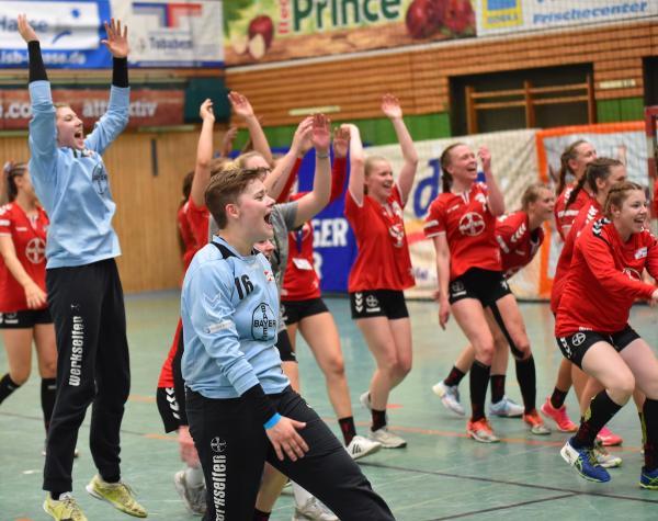 U19 Dm Leverkusen Folgt Buxtehude Nach Spannendem Match Ins Endspiel