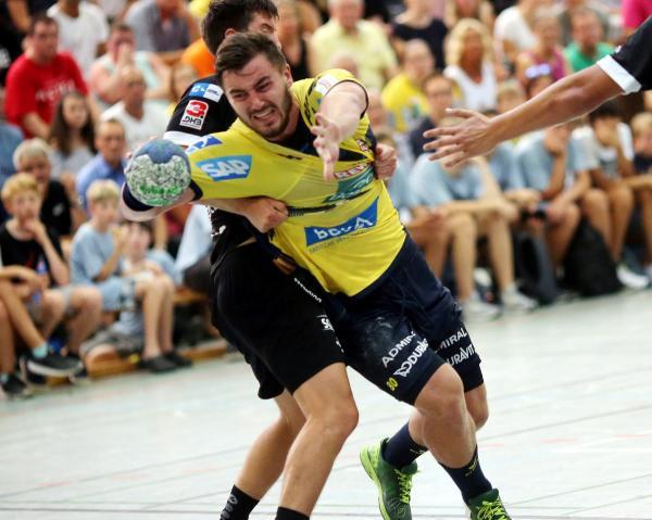 Jannik Kohlbacher erzielte sieben Tore für die Löwen