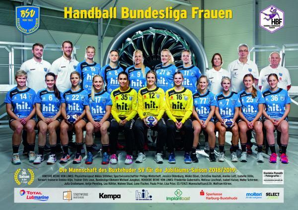 HBF1-Team - Buxtehuder SV 2018/19
